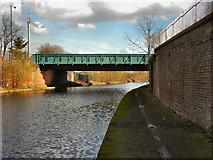SJ7797 : Bridgewater Canal,  Ashburton Road Bridge by David Dixon