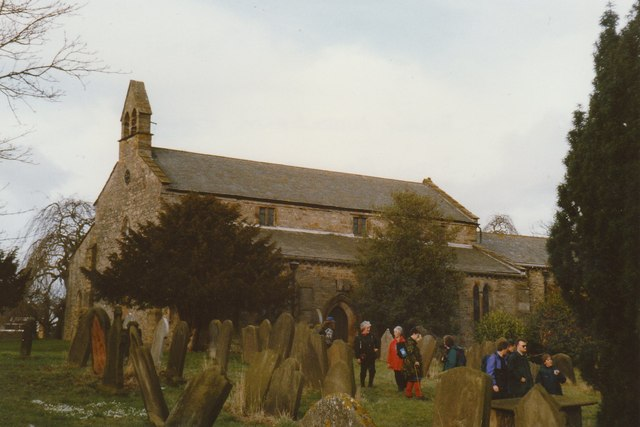 Churchyard at Bishop Middleham Church