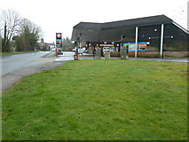 TQ1928 : Petrol filling station and shop on the A281 by Dave Spicer