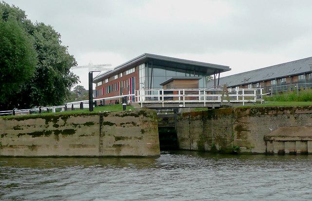 Diglis Bottom Lock in Worcester