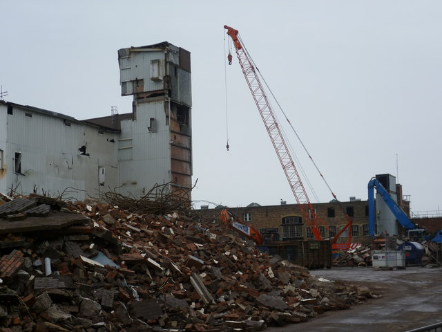 Ongoing demolitions, Fountainbridge