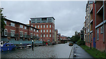 SO8554 : Worcester and Birmingham Canal at Diglis by Roger  Kidd