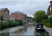 SO8554 : Worcester and Birmingham Canal  in Worcester by Roger  Kidd