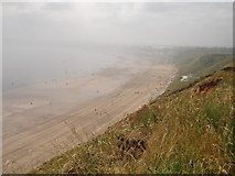 TA1281 : Filey sands from Filey Brigg by Rob Newman