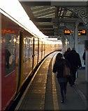 TQ2575 : Commuting at Wandsworth by Derek Harper