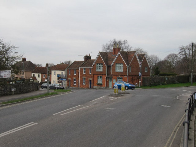 Roundabout on the A361