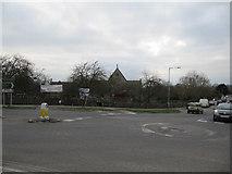 ST5038 : Barn across the road by Bill Nicholls