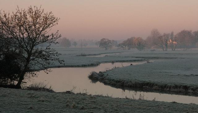 The River Waveney near Homersfield
