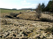 NS4760 : Glen Burn and Glenburn Reservoir by Lairich Rig