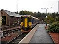 NN3824 : Train at Crianlarich by Rob Newman