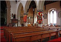 TQ4094 : St John the Baptist, Buckhurst Hill - Interior by John Salmon
