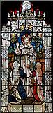 TQ4094 : St John the Baptist, Buckhurst Hill - Stained glass window by John Salmon