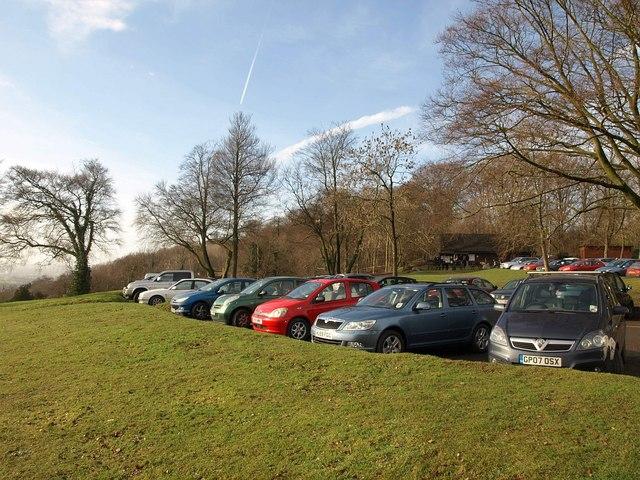 Car park, Reigate Hill