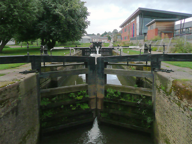 Diglis Bottom Lock in Worcester