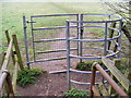 TM3877 : Kissing Gate  on the footpath  to Chediston Hall & the B1117 Chediston Street by Adrian Cable