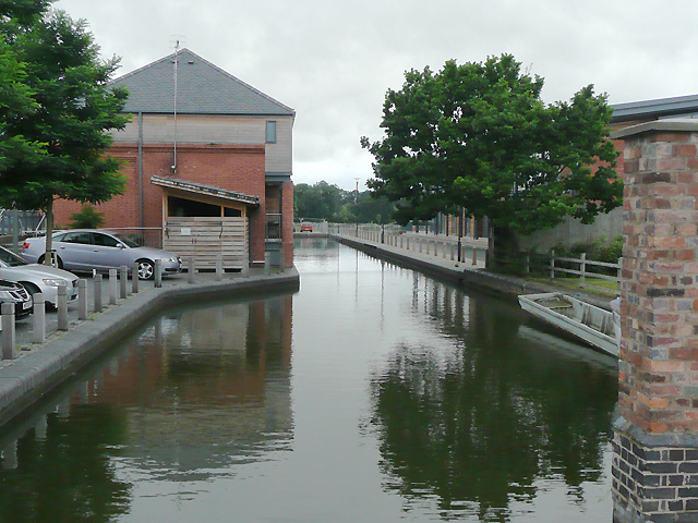 Wharf in Diglis Basin, Worcester