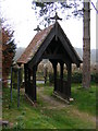TM3669 : Lych Gate of St Peter's Church, Sibton by Adrian Cable