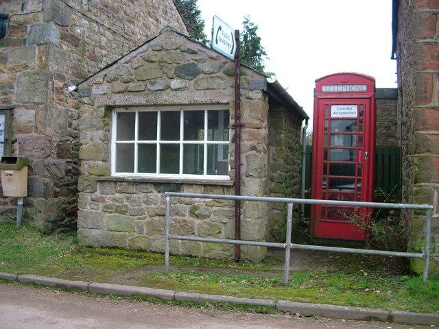 Knock phone box