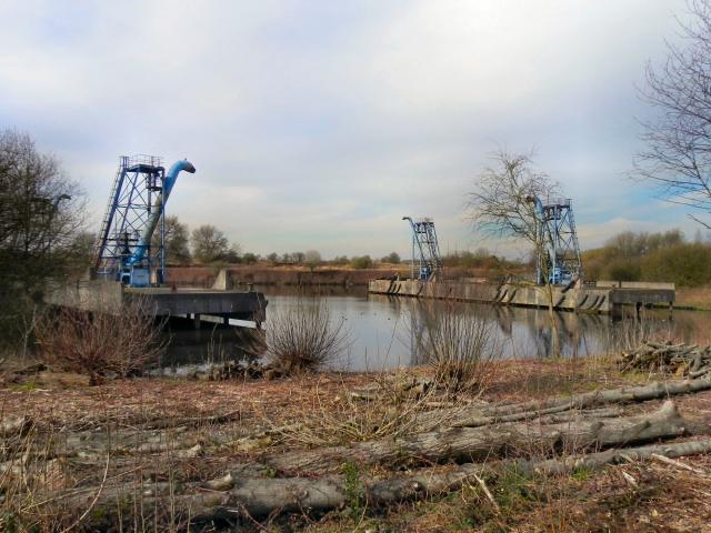Sludge Hoppers Davyhulme Wastewater Treatment Works