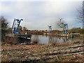 SJ7496 : Sludge Hoppers Davyhulme Wastewater Treatment Works by David Dixon