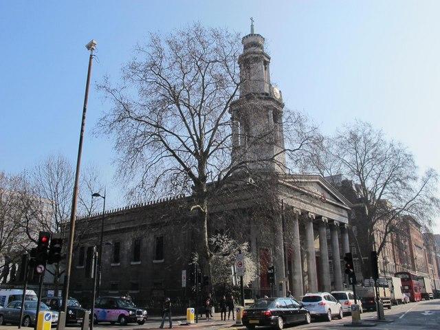 St. Pancras Church, Euston Road / Upper Woburn Place, NW1