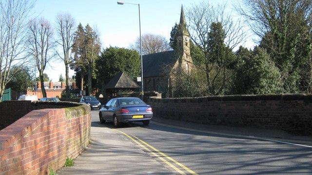 Narrow Road Bridge, Yardley Wood