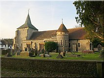 TQ1753 : St Michael's Church, Mickleham by Derek Harper