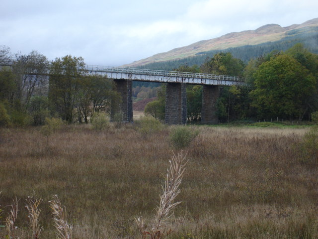West Highland Line bridge, Crianlarich
