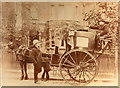 TQ3376 : Carriage in front of 40 Grove Park, Denmark Hill. SE5 8LG in 1900 by Photographer unknown - family archive