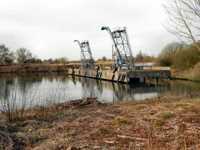 Davyhulme Wastewater Treatment Works - Wharf and Sludge Hoppers