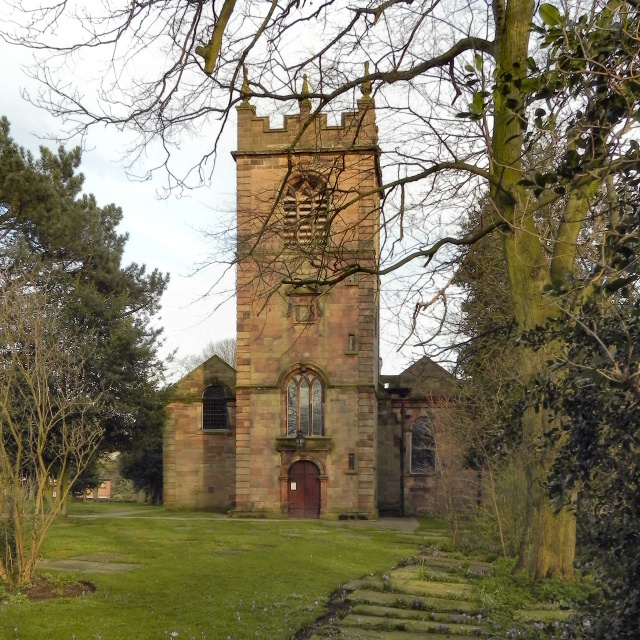St Michael's Church, Flixton; Tower and East Wall