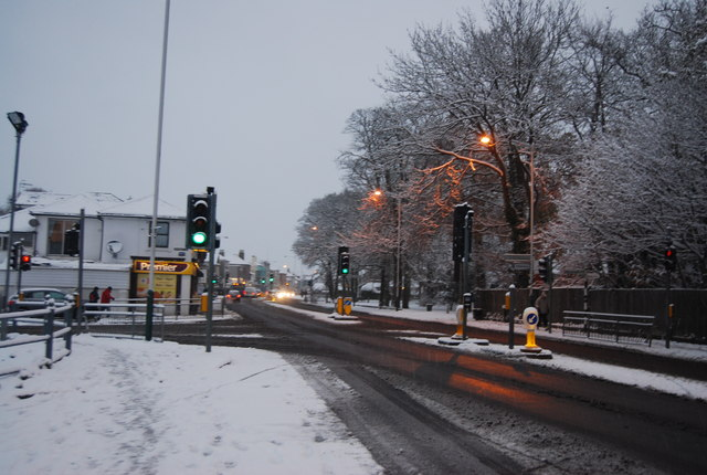 Traffic lights, St John's Rd by N Chadwick