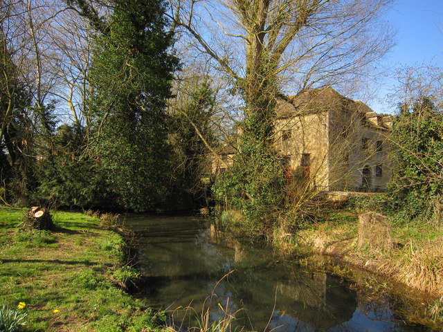 Kings mill and millstream, Stamford