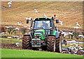 NO0301 : Ploughing near Hoodshill by William Starkey