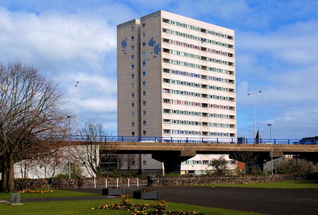 Riverdale flats, Larne (1)