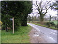 TM2752 : Footpaths to Stone Hall & Byng Hall Road, the A12 Melton Bypass & Ufford Road by Adrian Cable