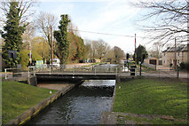 SU6269 : Upstream side of the bridge by Bill Nicholls