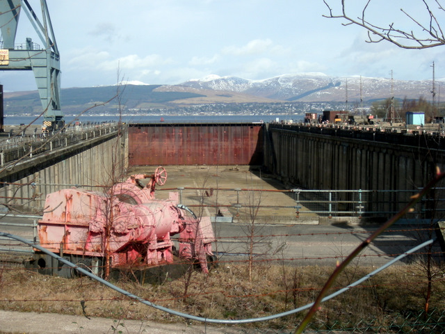 Inchgreen dry dock