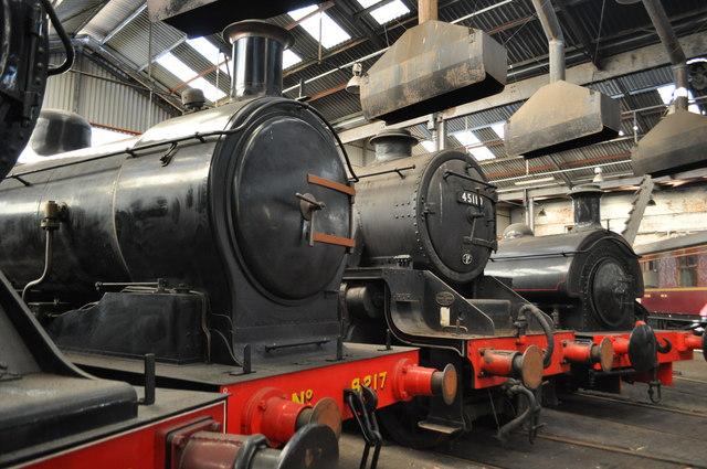 Steam Locomotives at Barrow Hill