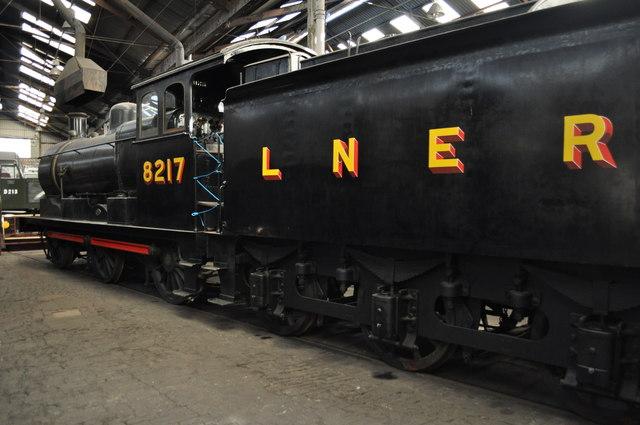 LNER J17 8217 at Barrow Hill