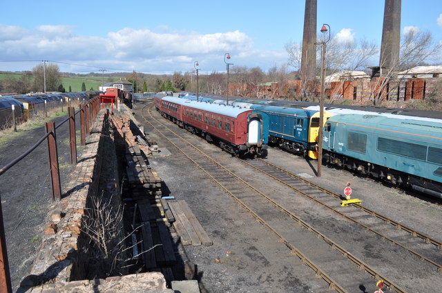 Barrow Hill Coaling Stage