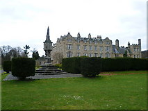 NT3366 : Newbattle Abbey from the grounds by kim traynor