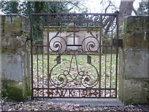 NT3366 : Lothian burial ground, Newbattle Abbey by kim traynor