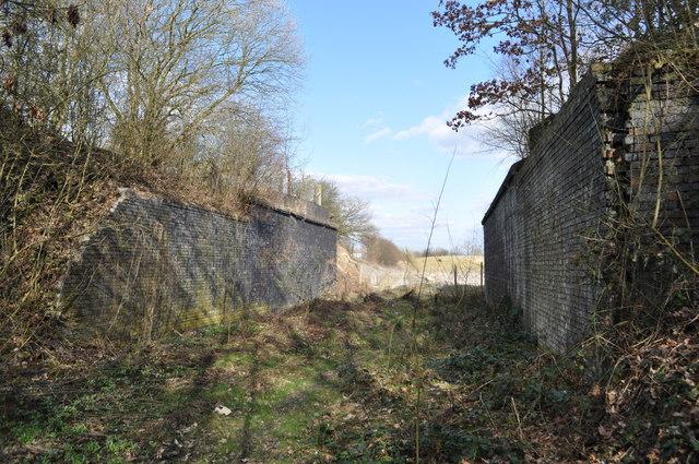 Duckmanton Railway Cutting - Former GCR