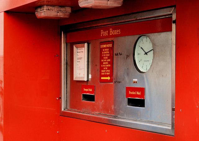Letter box, Belfast