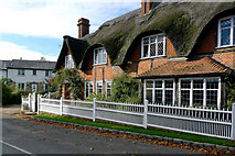 SP7330 : Cottages in Adstock Village by Cameraman