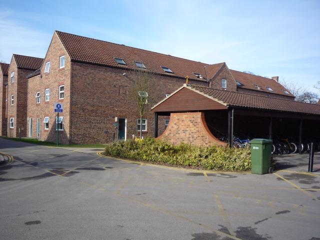 Irwin Court bike shed