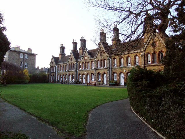 The Church Estate Almshouses, Sheen Road, Richmond