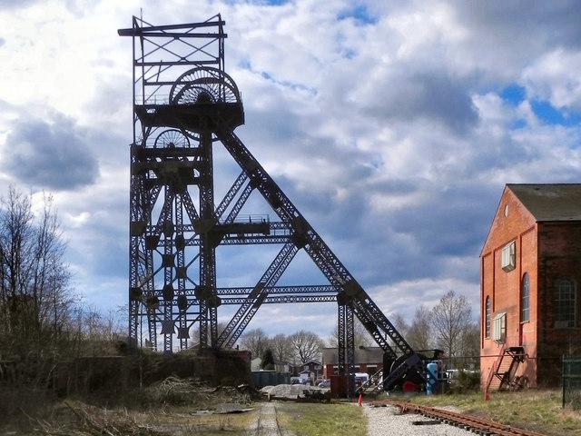 Astley Green Colliery Museum - Winding Headgear