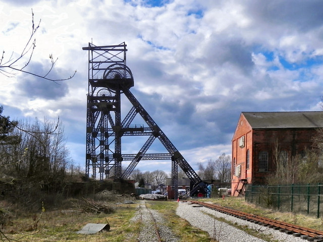 Astley Green Colliery Museum - Winding Headgear and Engine House
